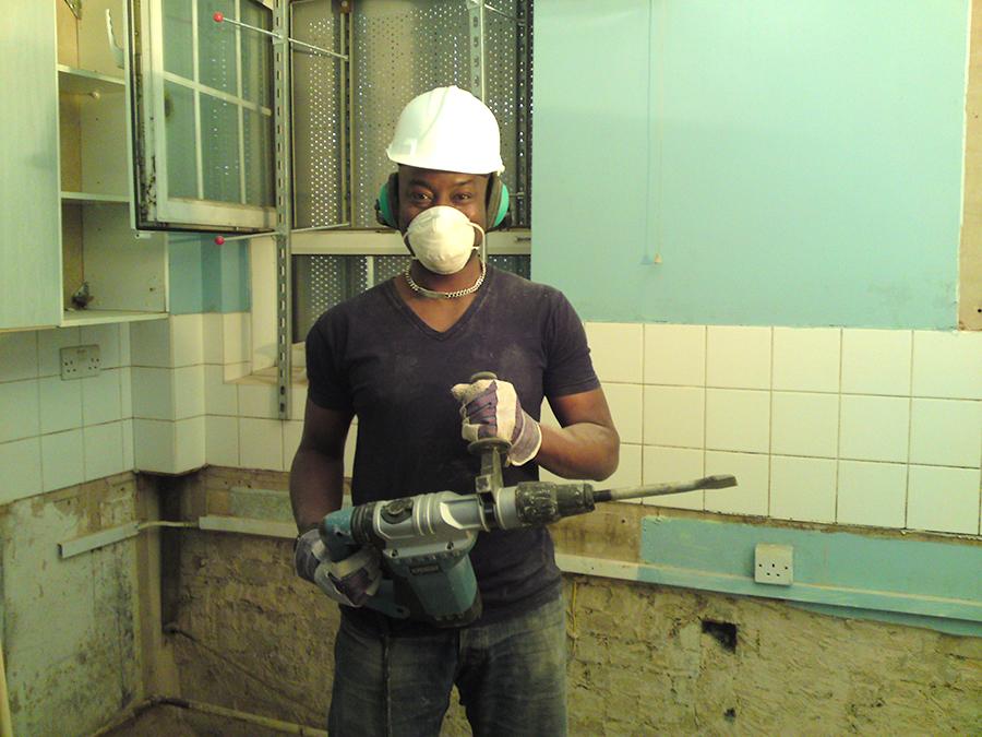 Ray Hard At Work